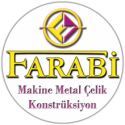 Farabi Makine Metal Logo